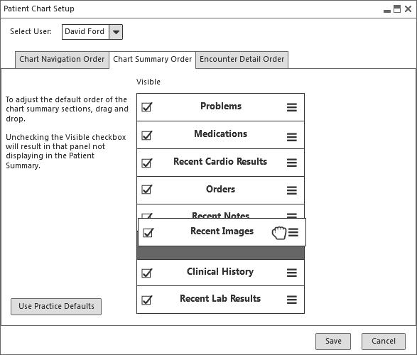 No icons ChartSummaryDragging